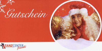 Gutscheine für Tanzkurse zu Weihnachten